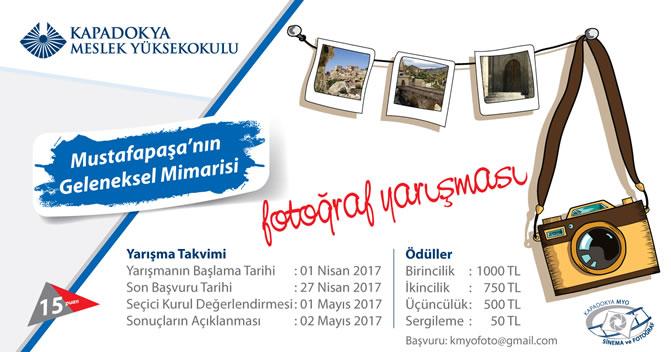 Kapadokya Meslek Yüksekokulu Fotoğraf Yarışması