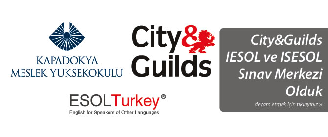 Yüksekokulumuz City&Guilds IESOL ve ISESOL Sınav Merkezi Oldu.