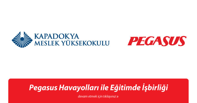 Yüksekokulumuz ile Pegasus Hava Yolları Arasında İşbirliği Protokolü