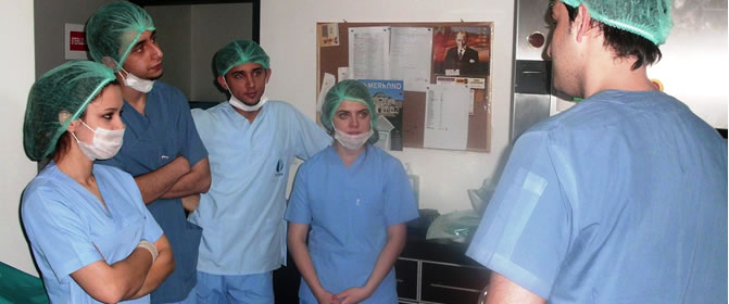 Ameliyathane Hizmetleri Uygulamaları Dersine Ön Hazırlık