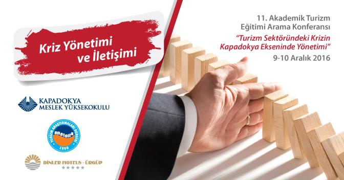 11. Akademik Turizm Eğitimi Arama Konferansı