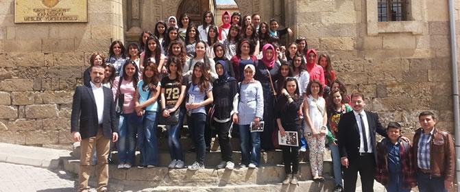 Kayseri Kız Teknik Ve Meslek Lisesi'nden Ziyaret