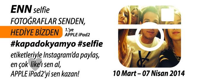 Instagram'da En Selfie Fotoğraf Yarışması