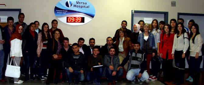 Öğrencilerimizin Ameliyathane Gezisi