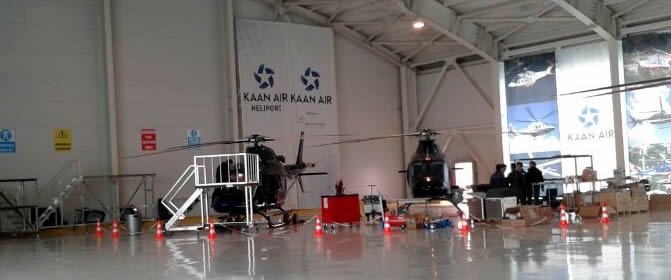 Kaan Air Heliport'a Teknik Gezi Düzenlendi