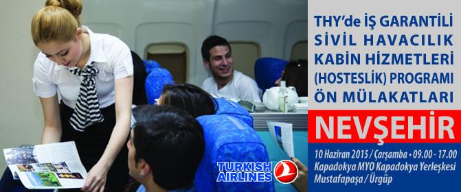 SH Kabin Hizmetleri Programı Ön Mülakatları Antalya'da Başlıyor