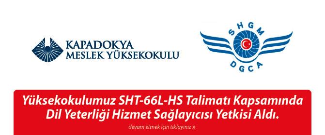 Yüksekokulumuz SHT-66L-HS Talimatı Kapsamında Dil Yeterliği Hizmet Sağlayıcısı Yetkisi Aldı.