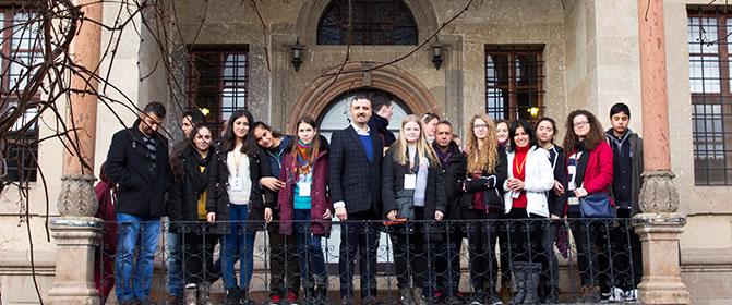 Mersinli Üniversite Adayları Yüksekokulumuzu Ziyaret Etti