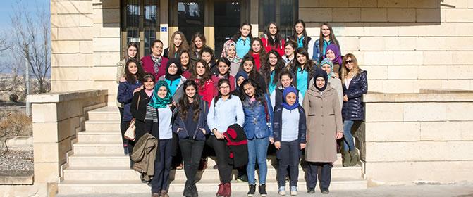 Nevşehir İbn-i Sina MTAL Yüksekokulumuzu Ziyaret Etti