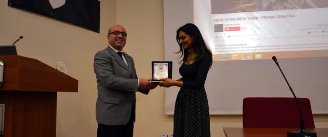 Erciyes Üniversitesi'nde Konferans