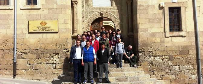 Ürgüp KML Yüksekokulumuzu Ziyaret Etti