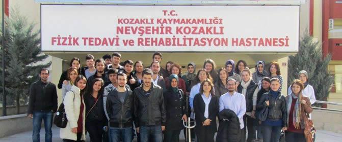 Fizik Tedavi ve Rehabilitasyon Hastanesi Ziyareti
