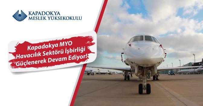Kapadokya MYO – Havacılık Sektörü İşbirliği Güçlenerek Devam Ediyor!
