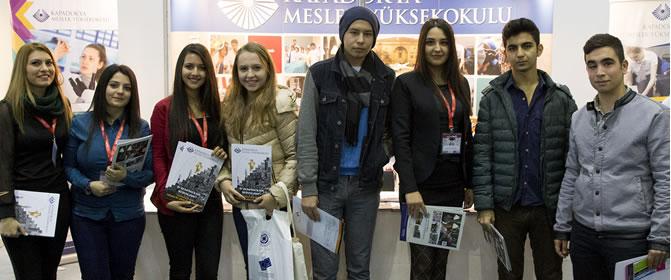Yüksekokulumuz Educaturk Mersin ve Adana Eğitim Fuarında