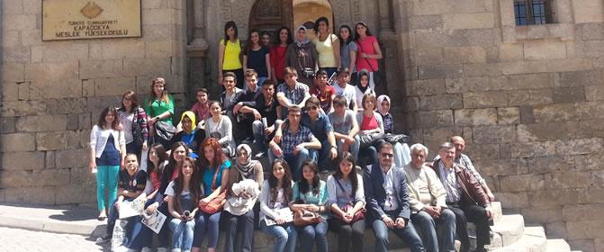 Gülşehir Anadolu Lisesi Yüksekokulumuzu Ziyaret Etti
