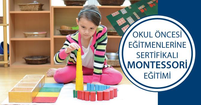 Sertifikalı Montessori Eğitimi Başladı