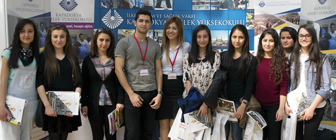 Yüksekokulumuz Antalya Fuarında