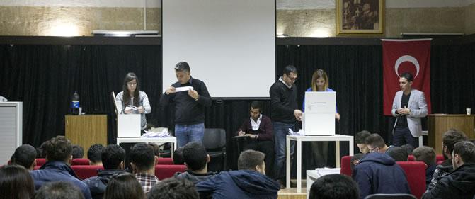 Öğrenci Konsey Başkanlığı Seçimleri Yapıldı
