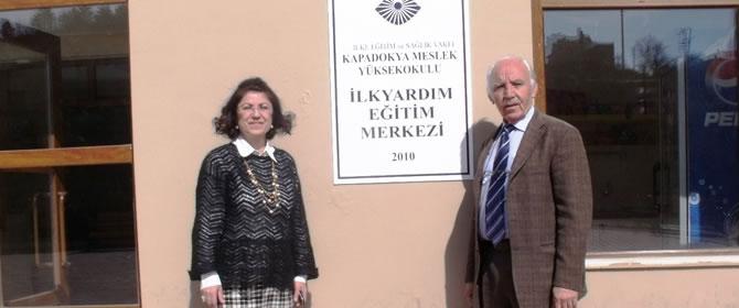 Kapadokya MYO'da İlkyardım Eğitim Merkezi Açıldı
