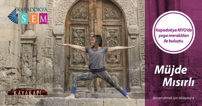 Müjde Mısırlı ile Yoga