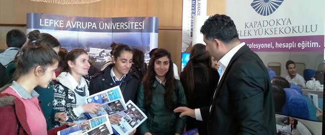 Yüksekokulumuz Diyarbakır Üniversite Tercih Günlerinde