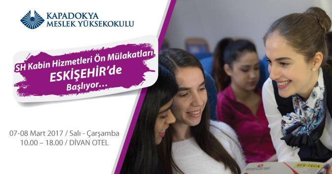 SH Kabin Hizmetleri Programı Ön Mülakatları Eskişehir'de Başlıyor