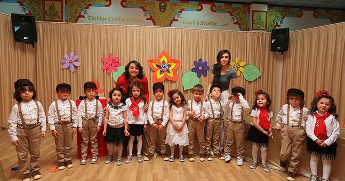 23 Nisan Montessori Anaokulu Kutlamaları