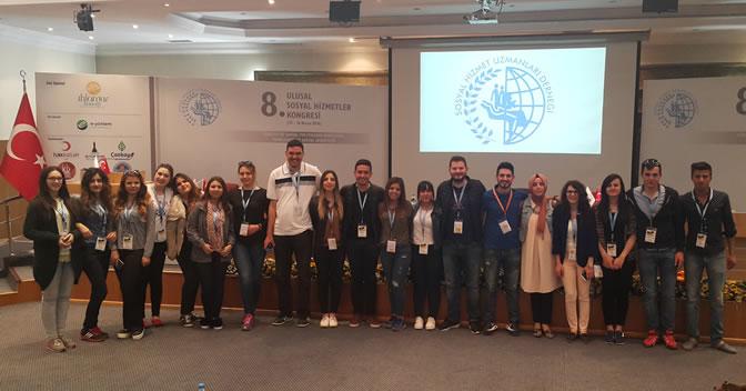 Kapadokya MYO  Sosyal Hizmetler Programı, Ulusal Sosyal Hizmet Kongresi'ne Katıldı.