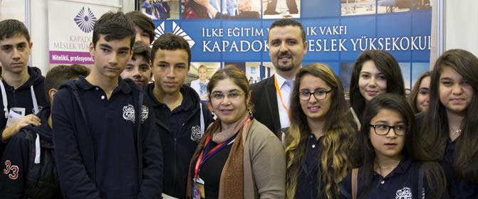 Yüksekokulumuz Educaturk Mersin ve Adana Fuarında